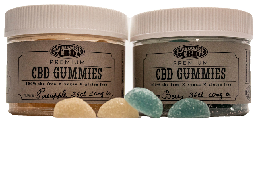 Nature's Best CBD Launches a Vegan, Gluten-Free, CBD Infused Gummy Supplement