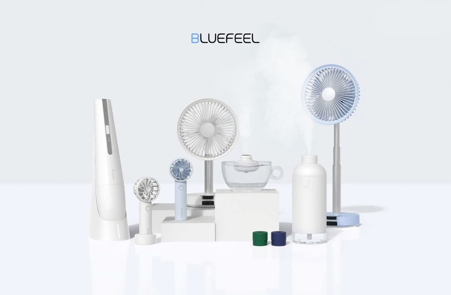 [PagnyoTechnoValley] Bluefeel, Attracted Attention with all of its Suction Power with Five Bowling Balls, Achieved 750 Million Won in Global Funding
