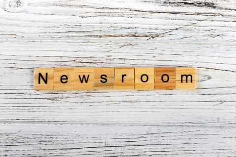 Storing your news release in a professional newsroom
