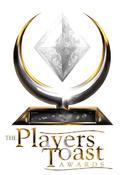 <strong>Logo for the Players Toast Awards</strong>