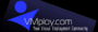 June 20th, 2008 — San Diego, California - VMploy.com, the first of its kind, visual and interactive online employment community launches in Beta. VMploy.com enables employers and recruiters to network, hold virtual job fairs, and live video interviews.