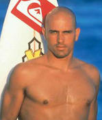 <strong>9 Times ASP World Champion Surfer, Kelly Slater</strong>