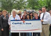 Thanks to Houston's Bayou City Art Festival, Capital One Bank