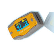 <strong>Pediatric Finger Pulse Oximeter is the world's smallest portable fingertip pulse oximeter.</strong>