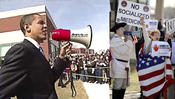 <strong>Barack Obama and The Tea Party were Heard Loud and Clear With AmpliVox Sound Systems' MityMeg� Megaphones.</strong>