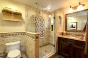 Jackson design remodeling historic spanish revival home for Clean the bathroom in spanish