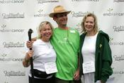 <strong>CEO Dellann Elliott with long term brain cancer survivor John Brace, and 3 time Emmy Award winning actress, Jean Smart.</strong>
