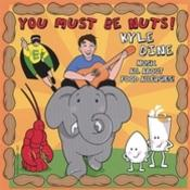<strong>Artwork from Kyle Dine's first CD - &quot;You Must Be Nuts!&quot;</strong>