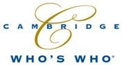 <strong>Cambridge Who's Who® membership provides individuals with a valuable third party endorsement of their accomplishments.</strong>