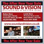 Price Busting After New Year Sale Begins At Sound And Vision - Leeds & Bolton On HD 3D LED, LCD, Plasma TVs, Home Cinema AV Systems and Electricals Etc