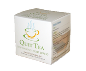 <strong>A box of Quit Tea, natural quit smoking aid.</strong>