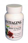 <strong>DONT PAUSE, natural menopause remedy</strong>