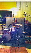 "Dave Krusen lays down drums for ""Ohio"" single."
