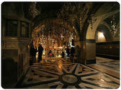 <strong>The Church of the Holy Sepulchre is a church within the walled Old City of Jerusalem, where Jesus was crucified and is said to be where Jesus was buried (the sepulchre).</strong>