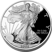<strong>1 ounce of pure American silver</strong>