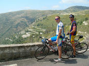 <strong>On the last cycling day of &quot;Alpe d'Huez to Nice,&quot; riders will experience amazing views over the Riviera.</strong>
