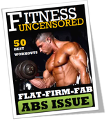 <strong>This is he image of the first Fitness Uncensored Magazine</strong>