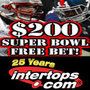 Intertops Sportsbook Offering $200 Super Bowl Free Bet and 20% Deposit Bonus -- Odds Favor New England Patriots Over New York Giants
