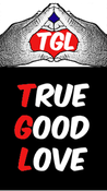 <strong>True Good Love logo that promotes expanding love in global society</strong>