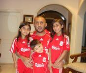<strong>The family of Safi Qurashi are all devout Liverpool FC Fans</strong>