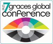 <strong>White background logo for 7 Graces Global Conference 300 pixels wide</strong>