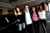 <strong>Jimmie Lee and the now famous Bandito Girls, who accompany Jimmie to all his poker events and some of his live shows!!</strong>