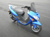 <strong>high performance electric motor scooter, 62 mph and 50 m range for $4500</strong>