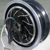 <strong>The motor for the ZEV is inside the rear wheel. No moving parts, only bearings move.</strong>