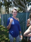 <strong>Shailene Woodley from &quot;Secret Life of an American Teenager&quot; wearing her new Click-itz bracelet.</strong>