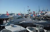 <strong>The Treasure Coast Marine Flea Market and Seafood Fest Boat Corral new and used boats</strong>