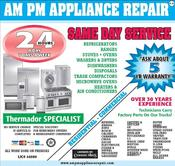<strong>AM PM Appliance Repair, Los Angeles Appliance Repair Company</strong>