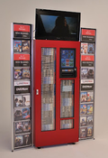 <strong>DVDNow DVD rental kiosk</strong>