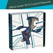 <strong>Mandeville London 2012 Mascot Gift Block 70mm x 70mm</strong>
