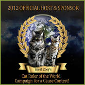 <strong>Zee & Zoey's Chronicle Connection to Host and Sponsor Annual Cat Ruler of the World Contest</strong>