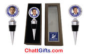 <strong>President Obama and Mitt Romney Campaign Collectibles with Swarovski crystals in gift boxes.</strong>