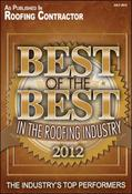 <strong>Chandler's Roofing, Inc. recognized as &quot;Best of the Best in the Roofing Industry&quot; by Roofing Contractor Magazine and GAF</strong>