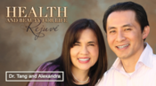 <strong>Radio hosts, Dr. John and Alexandra Tang of &quot;Health & Beauty for Life&quot;</strong>