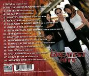 <strong>Back Cover of Jimmies new CD, THE GREATEST HITS!