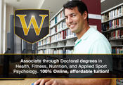 <strong>Wexford University online health, fitness, nutrition and applied sport psychology degrees</strong>