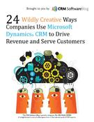 <strong>Cover of 24 Wildly Creative Ways Companies Use Dynamics CRM White Paper</strong>