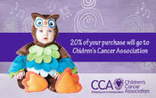 <strong>Promotional banner for Costume Kingdom/Childrens Cancer Association</strong>
