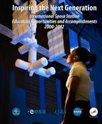 <strong>Cover of the Education publication, Inspiring the Next Generation: International Space Station Education Opportunities and Accomplishments 2000-2012. (NASA)</strong>