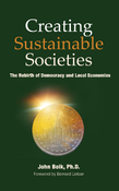 <strong>Cover of the book &quot;Creating Sustainable Societies&quot;</strong>
