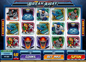 <strong>Break Away video slot has 25 free spins and 10x multiplier</strong>