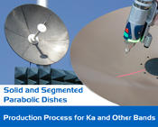 <strong>Advanced composite processes allow Composiflex to manufacture lightweight parabolic dish antennas with tolerances suitable for Ka band satellite communication systems.</strong>