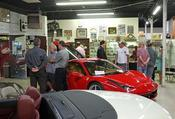 <strong>Guests at Oct 17 opening of DFW Elite Toy Museum's Race Car Exhibition Grand Opening Charity Event.</strong>