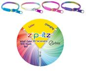 <strong>Color changing zipper bracelets</strong>