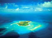<strong>An aerial shot of Sir Richard Branson's private island where the Necker Cup will take place Dec. 9-13</strong>
