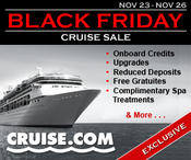 <strong>Cruise.com's Annual Black Friday Sale Delivers Unprecedented Value</strong>