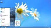 <strong>Classic Start 8 simplifies the Windows(R) 8 user experience by maintaining the familiar form and function of a standard start menu.</strong>